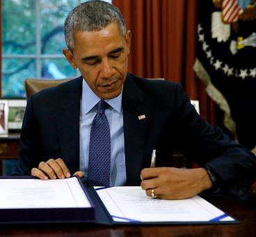 Obama signs defence bill; boosts security co-op with India