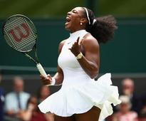 Serena gets her 80th win at the AELTC