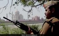 Security at Taj up after 'IS threat'