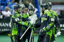 Saskatchewan Rush best Colorado, take top spot in NLL west