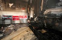 Firebombed Republican office re-opens