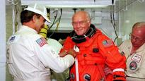 Oldest man to go to space...