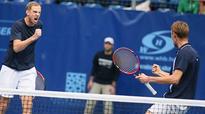 Alexander Bury, Andreas Siljestrom win men's doubles event in Budapest