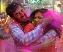 PHOTOS: Ranbir, Deepika on a colourful ride in 'Balam Pichkari'