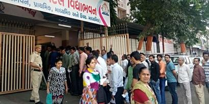 Gujarat polls: EVM malfunctions in Surat, replaced