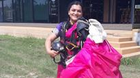 Watch | Padma Shree Winner Sheetal Mahajan Rane skydives from 13,000 feet in a saree