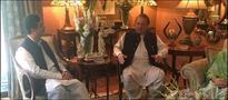 PM Nawaz visits Gillani House, greets former PM on safe return of son