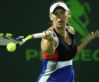 Wozniacki says she, her family verbally abused at Miami match