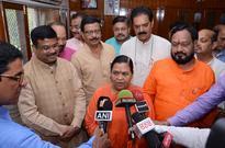 Dharmendra Pradhan meets Uma Bharti on Mahanadi issue ,Centre will not harm Odisha's interests, says Uma Bharti