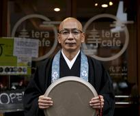Buddhist cafe gives Tokyo caffeinated enlightenment