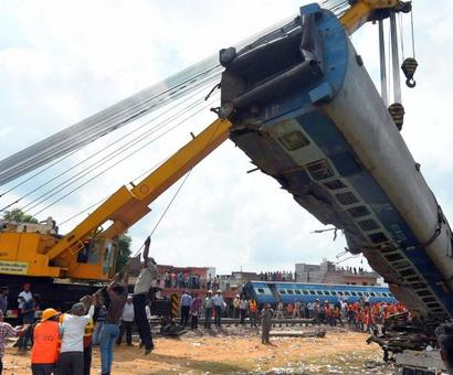 Authorities hint negligence caused UP train tragedy