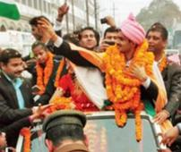 After welcome at Azamgarh, DM Suhas to receive Yash Bharti