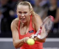 Caroline Wozniacki knocked out of Rome Open