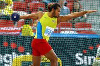 Discus champ Irfan breaks national record in Germany, but misses podium