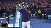 Djokovic wins record sixth title