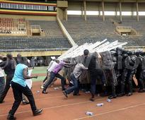 Police trained in public order management