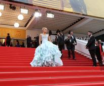 Blake Lively is an absolute vision as she drops leg bomb in elegant gown at Cannes Film Festival