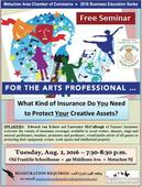 Metuchen Chamber to Host Free Arts Insurance Seminar Next Month