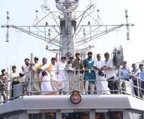 16 MLAs get a taste of sea, warships and Navy