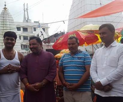 Mayawati slur case: Dayashankar Singh traced to temple in Jharkhand
