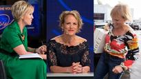 Hilary Barry's style over the years