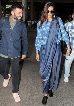 PIX: Sonam, Shraddha, Govinda at the airport