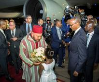 Moroccan King on State visit in Rwanda