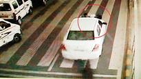 Speeding car with security man on bonnet triggers panic at IGIA, cabbie held