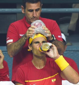 Spain back where they belong, says Nadal