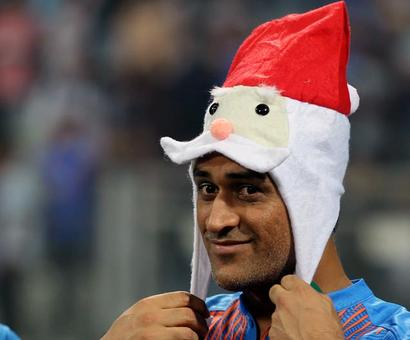 PIX: Team India celebrates Christmas in style