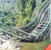 One killed in Mizoram Bailey bridge collapse