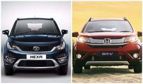 Tata Hexa Vs Honda BRV  Comparison