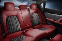 Maserati Zegna interior