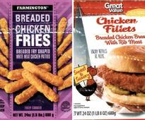 A Million Pounds Of Chicken Recalled Over Metal Shards