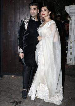 PIX: Deepika, Kareena, Sonakshi at Anil Kapoor's Diwali party