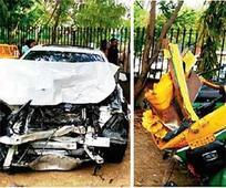 Rajasthan lawmaker's son mows down 3, injures 4