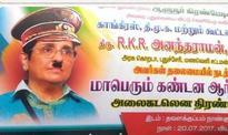 Kiran Bedi tweets 'Congress-made' poster featuring her as Adolf Hitler