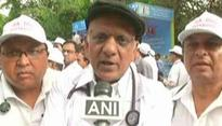 Protesting against 'atrocities' faced by medical fraternity: IMA