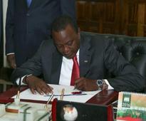 Uhuru signs revised anti-doping bill, WADA review pending