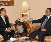Pakistan's ambassadors (designate) to Netherlands calls on President
