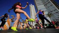 Zumba celebration in India with 8 city tour