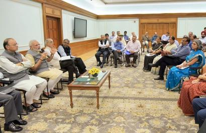 Deliver for the benefit of the nation: PM to bureaucrats
