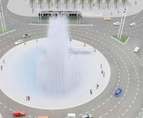 Light fountain, climbing wall or underground aquarium - Six ideas for new look for Slavija...