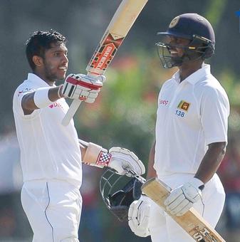 Sri Lanka's Mendis misses double ton, Bangladesh face uphill task