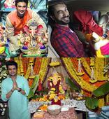 Sushant Singh Rajput, Mouni Roy, Manish Paul celebrate Ganesh Chaturthi in full fervour!