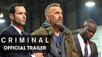 Movie review: 'Criminal', a bad man, an even worse premise