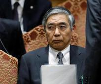 BOJ Kuroda: Economy recovering but consumption lacks strength
