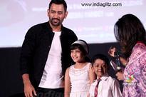 What did Dhoni interact with Suriya's kids&#63