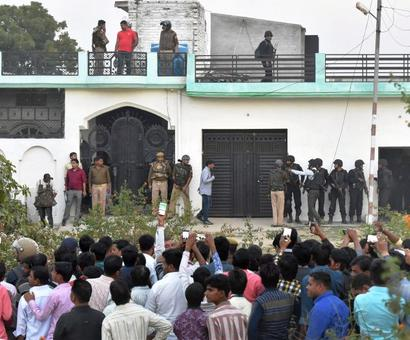 Lucknow terror op: ATS team, commandos felicitated