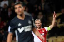 Red-hot Monaco thrash Marseille to go top
